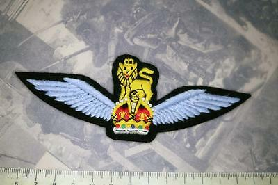 Ww2 Raf British Glider Pilots Wings Cloth Badge Patch Army Air Corps Pegasus