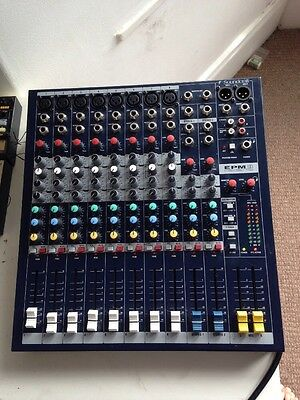 Soundcraft EPM8 8 Channel Mixing Desk (barely used)