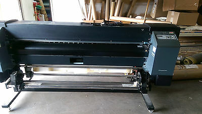 """HP 9000s Designjet light Solvent Printer 64"""" with rolling dryer/heater"""