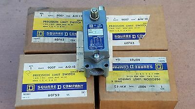 Square D Precision Limit Switch 9007 AW-12