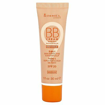 Rimmel BB Cream 9 In 1 Skin Perfecting Radiance Make Up SPF 20 30ml-Medium