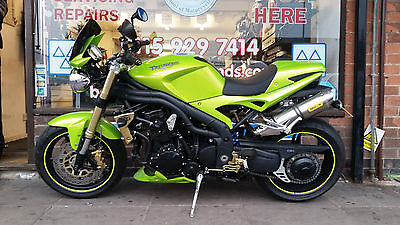 2008 Triumph Speed Triple 1050 Green