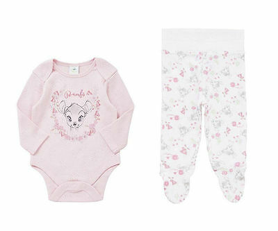 "DISNEYS ""BAMBI"" BODYSUITS & LEGGINGS SET. 3-6, 9-12m"