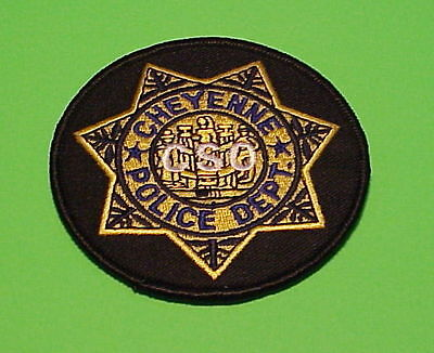 Cheyenne  Wyoming  Wy  ( Cso )   Police Patch   Free Shipping!!!