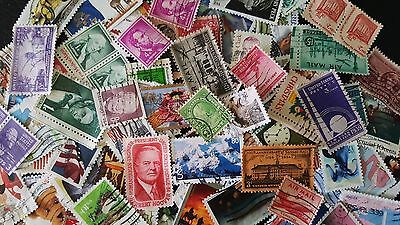 Stamps break down – USA stamps collection lot (100+,used) (Lot 170613-03)