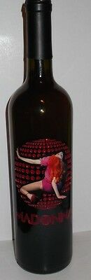 **EXTREMELY RARE MADONNA CONFESSIONS STILL SEALED ETCHED RED WINE** Two availabl