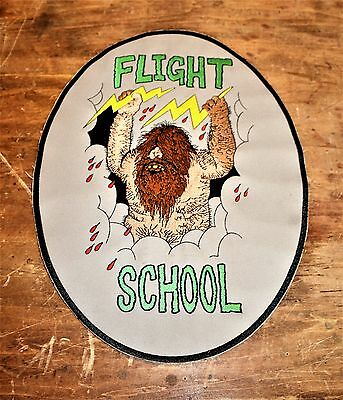 Military? Custom? Flight School Jacket Patch - Caveman - Air Force  Army  Navy