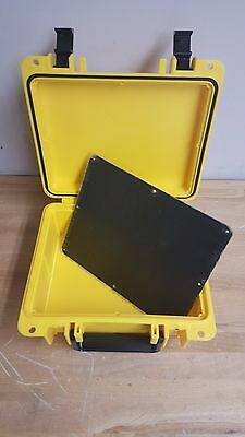 Seahorse 300 (New in Box) Protective Case YELLOW w Anodized aluminium plate