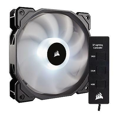 Corsair SP120 RGB LED High Static 120mm Case Fan + Fan Controller CO-9050060-WW