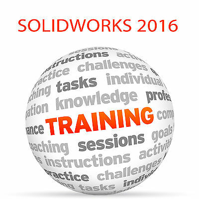 SOLIDWORKS 2016 - Video Training Tutorial DVD