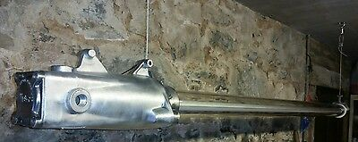 Vintage explosion proof led fluorescent light fittings circa 1970