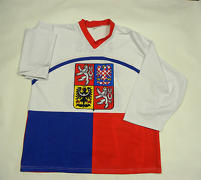 Czech Republic Ice Hockey Shirt Jersey #25 Patrik Eliáš