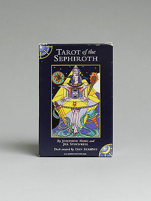TAROT OF THE SEPHIROTH (U.S. Games, 1999) SEALED DECK