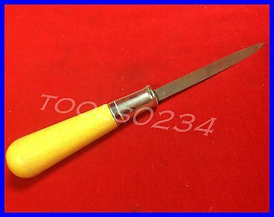 "New Nicholson 21667N Steel Machinists Scraper With Handle 7-1/4"" OAL Free Ship"