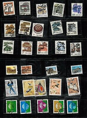China PRC - Small lot of used regular stamps - years 1971-2006
