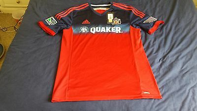 Chicago Fire MLS football shirt large L