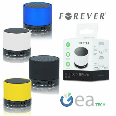 Forever Mini Cassa Portatile Speaker Bluetooth Wireless BS-100