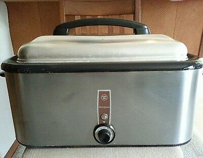 Vintage 1960's Westinghouse Roaster, Model HR 25-1