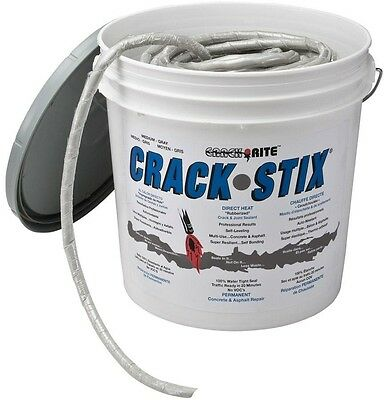 Joint Crack Filler Crack-Stix Medium Gray Permanent Concrete Floor Patch Repair