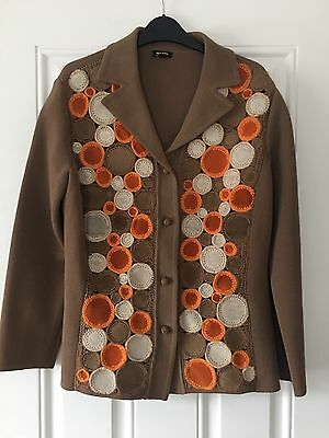 LADIES VINTAGE 60's 70's JACKET SIZE 14