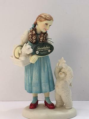 Department 56 Snow Babies Dorothy & Toto Wizard of Oz Guest Collection Figurine