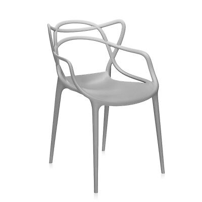 Inspired Grey style Dining chair indoor or outdoor style chic