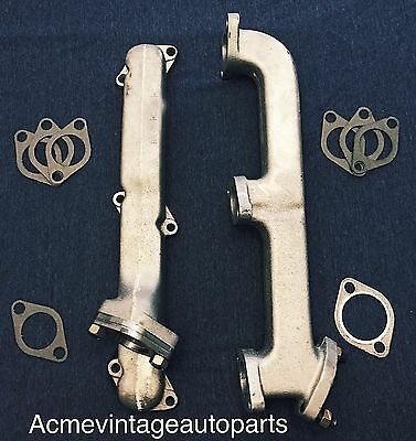 1949 1950 1951 49 50 51 SHOEBOX FORD SEDAN  FLATHEAD Dual Exhaust Manifolds