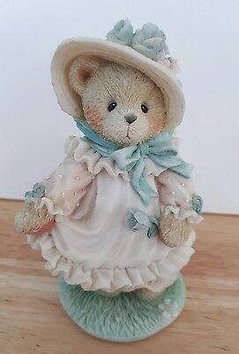 """Cherished Teddy Hope """"Our love is ever blooming""""  boxed with papers 1994"""