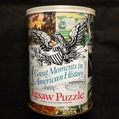 Vintage Humble Oil and  Refining PUZZLE / PRISTINE CONDITION! / NOS C. 1969