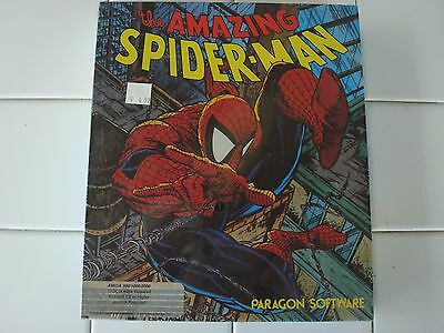 The Amazing Spider-Man For Commodore Amiga, NEW FACTORY SEALED, Paragon