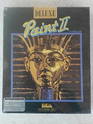 Deluxe Paint II For Commodore Amiga, NEW FACTORY SEALED, EA Electronic Arts