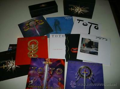 TOTO The Collection. 7 cds y 1 dvd Pack