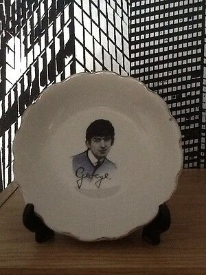 George Harrison -the Beatles Small Ceramic Plate/dish