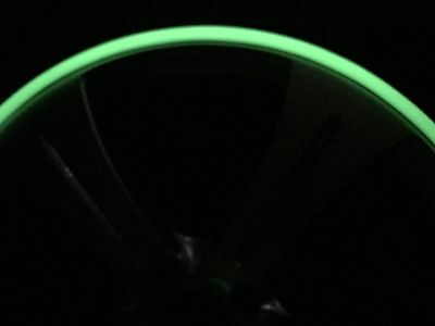 "GLOW IN THE DARK Rimbands by Rimblades Alloy Wheel Rim protectors 15"" to 18"""