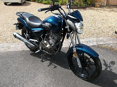 2016 Zontes Mantis 125 Zt 125-E Blue 1 Owner Fully Serviced Only 768 Miles