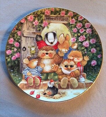 Royal Doulton Welcome To Woodstump! Country Companions 1997 Collectors Plate