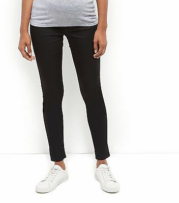 New Look Black Maternity Under Bump Jeggings Skinny Jeans Trousers Size 10-18