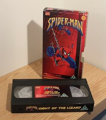 Vhs Video Classic - Spiderman Promo - Old & Rare Videos  - Night Of The Lizard