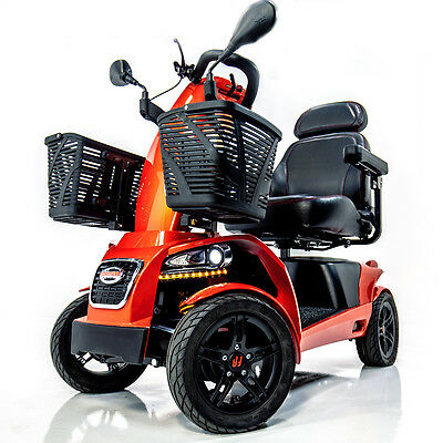 FR1 Rugged Large Mobility Scooter Freerider 4-Wheel w/ Suspension Speed 9.4 mph