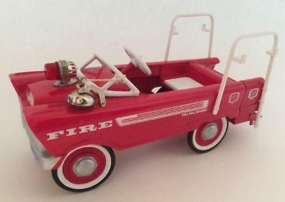 1995 1962 Murray Super Deluxe Fire Truck  Hallmark Kiddie Car Classics Pedal Car