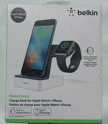 Belkin PowerHouse Charge Dock for Apple Watch and iPhone NIB