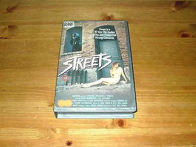 Streets - Ex Rental Big Box VHS Video Christina Applegate Thriller MGM-UA