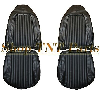 1973 Challenger Barracuda Seat Covers Front Bucket Seats 73 Dodge Plymouth Cuda