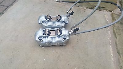 Ducati Streetfighter 848 Brembo Front Brake Calipers Little Used