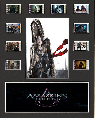Assassins Creed replica Film Cell Presentation 10 x 8 Mounted 10 cells