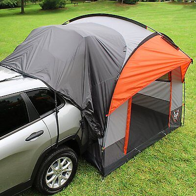 SUV Tent Jeep Wagon Tents For Back Of Car Truck Hatch Camping Travel Overnight