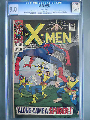 X-Men (1967) #35 CGC 9.0 White **1st Changeling** Spider-Man Appearance