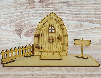 Fairy Door With Stand And Accessories