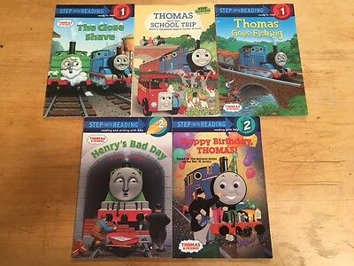 Lot Of 5 Thomas The Train Children's Books #5811 FREE SHIPPING