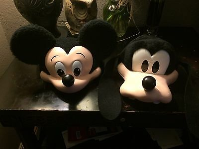 Vintage Disney Land World 3D Goofy Hat Mickey Mouse Cap Disneyland Made In USA